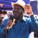 Raila Odinga tests positive for COVID-19, in self-isolation