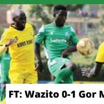 Wazito 0-1 Gor Mahia: Jules Ulimwengu hands K'Ogalo 5th straight win
