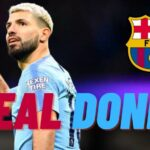 Sergio Aguero to Barcelona in few days; Details and Salary.